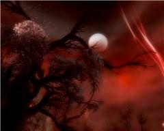 Blood sky