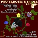 Pirate Roses Spider