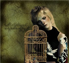 A Nightingale in a golden cage