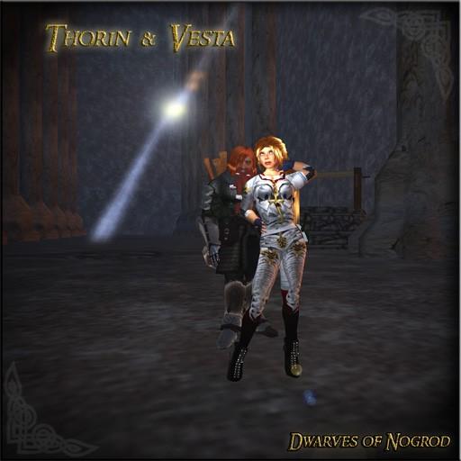 Dwarves of Nogrod - Throin and Vesta 1