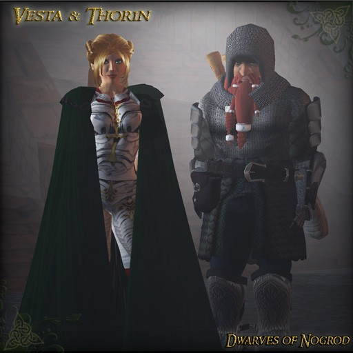 Dwarves of Nogrod - Throin and Vesta 2