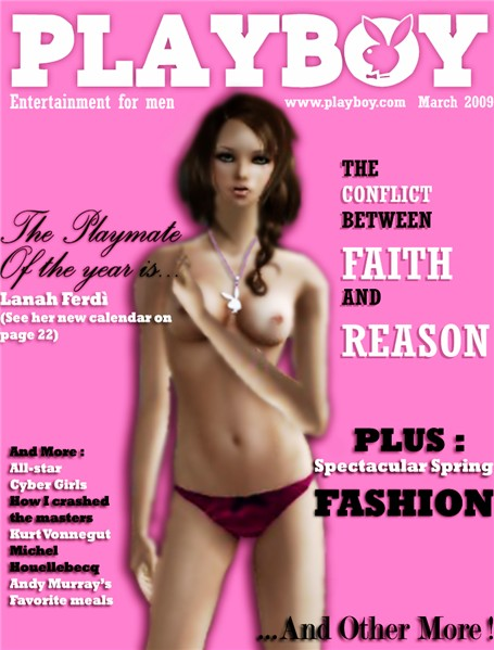 Lanah's Playboy Cover
