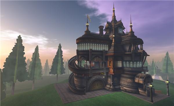 nice castle, trees won't rez - Torley Olmstead