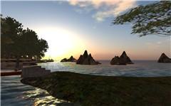 Sunrise over the Islands...