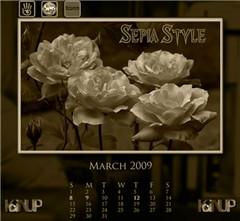 March Calendar - SepiaStyle Group