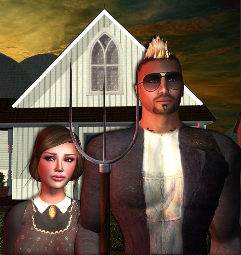 Magpie to the morning (New American Gothic)