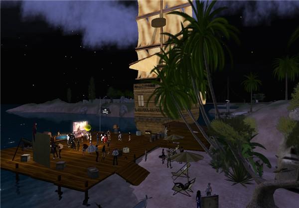 """DJ is Back @ Pirates Night 3, """"The Club"""""""