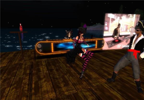 """DJ is Back @ Pirates Night 9, """"The Club"""""""