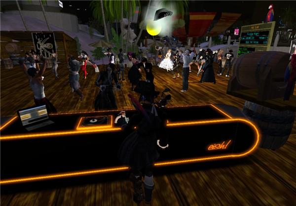 """DJ is Back @ Pirates Night 12, """"The Club"""""""