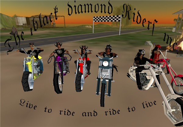 Black Diamond Riders Motorcycle Club 80