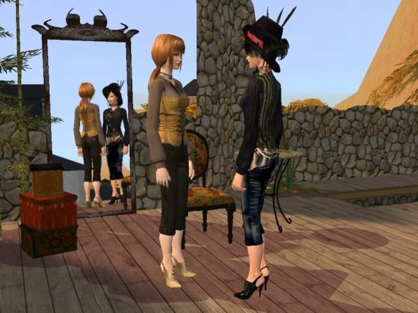Two Steampunk ladies