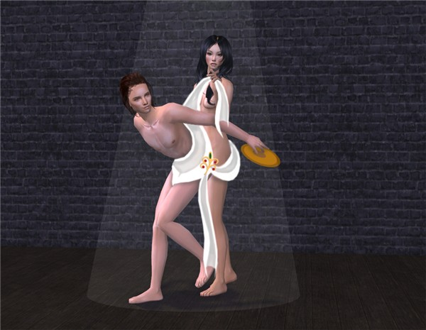 artistic nude