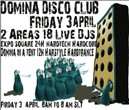 domina disco club : isithedreamaker teskat