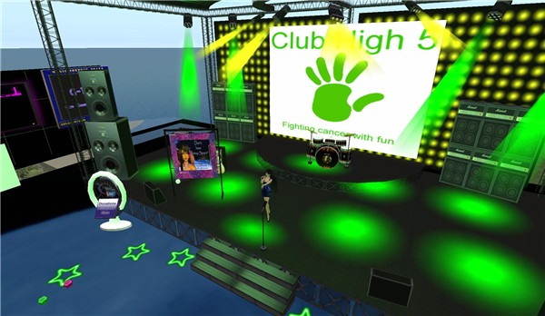 stage at club high 5