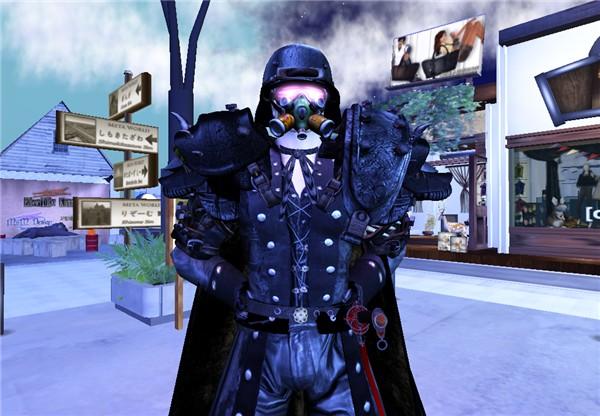 Mr. Nightbefore Dayafter as a mercenary
