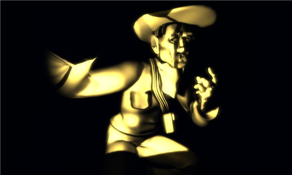 Sepia Cowboy
