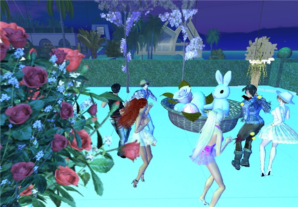"Sping party @ ""The Club"" - dance around the bunny"