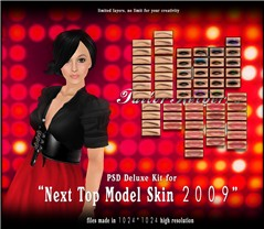 TK top model psd deluxe ad