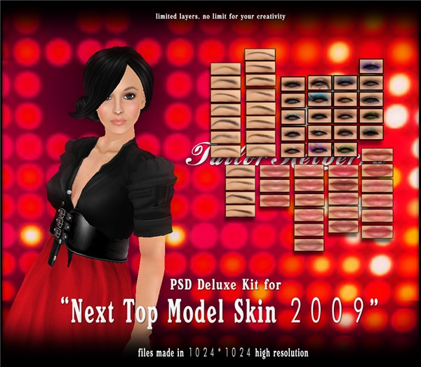 TK top model psd deluxe ad