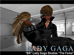 Lady Gaga Shades *The Fame* unisex