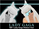 *BR* Lady Gaga Ribbon Hair