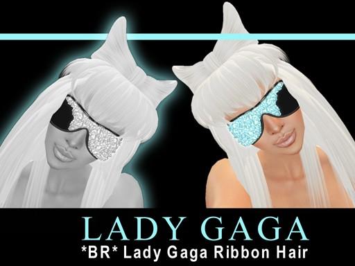 *BR* Lady Gaga Ribbon Hair