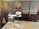 Lavender Bathroom