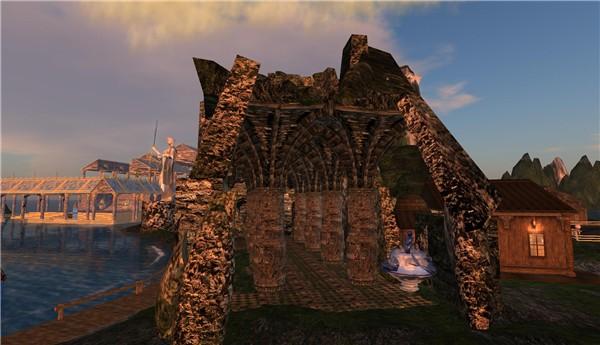 Mermaid Temple -RELIC Sanctuary ruin