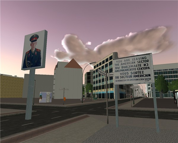 Twinity: Checkpoint Charlie