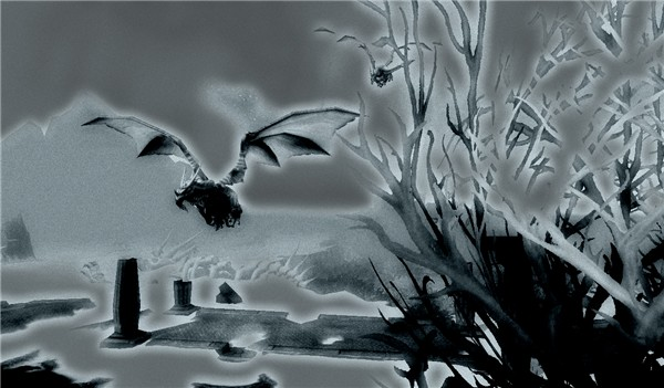 Flying in Dragonblight
