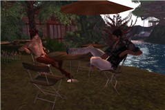 Relaxing with Gany - Raul Crimson