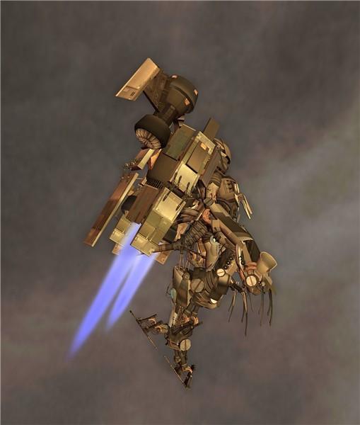 Kazuhiro Aridian's robot