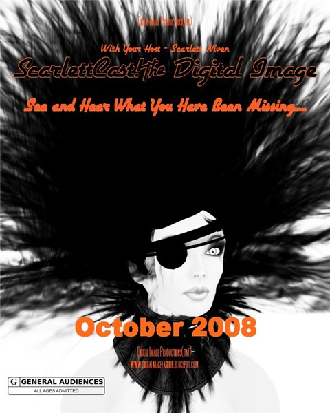 ScarlettCast Cover - October 2008