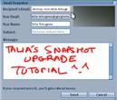 SnapShot Upgrades Tutorial by Talia Tokugawa