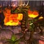 Flamethrower reptile