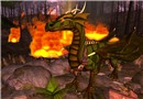 Flamethrower reptile