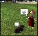 An innocent in Second Life.