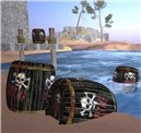 pirate grog barrels