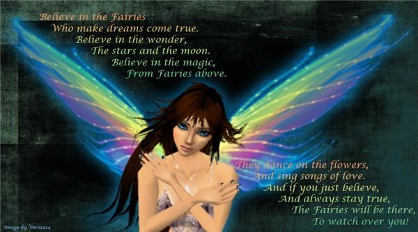 Belive in fairies