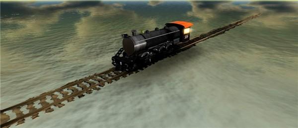 AM Radio's train on water