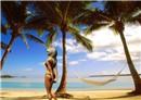 Babe On Beach