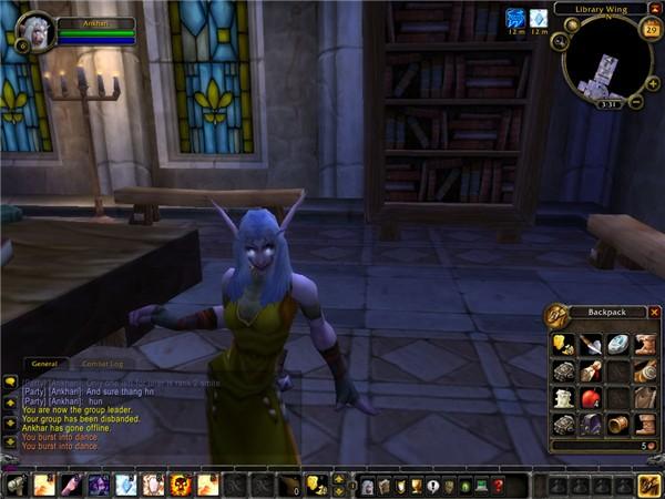 My Night Elf~ Priest.