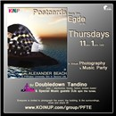 Thursdays - Postcards From The Edge - 11am-1pm - DJ Doubledown Tandino