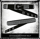 Leather Studded Belt Ad1