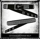 Leather Studded Belt Ad1