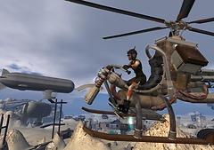 Freakangels' Airbike (flying in the Wastelands)