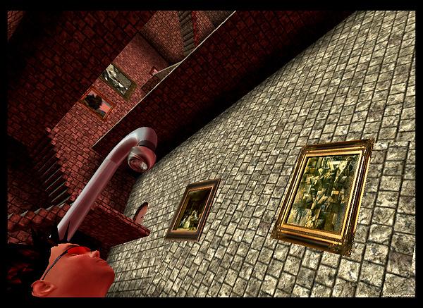 Colin Fizgig's Hogwarts-meets-Escher build - 5