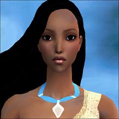 Primo piano Pocahontas