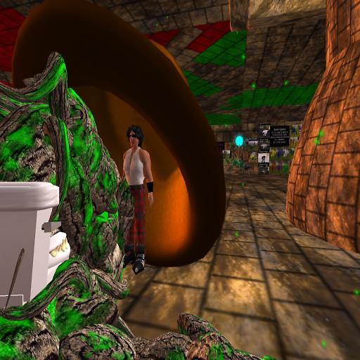 Half Treeant, half toilet? Hide!