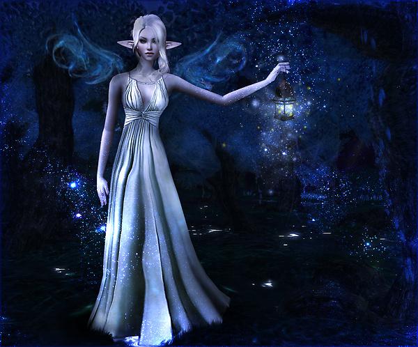 The fireflies lantern
